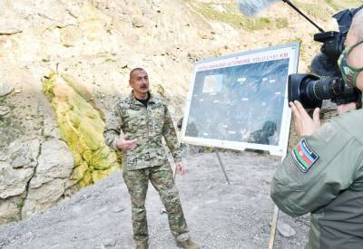 Президент Ильхам Алиев: Мы покажем миру совершенное в Карабахе армянское варварство