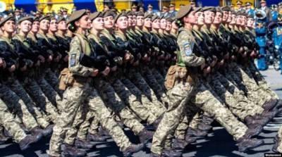 Парад ко Дню Независимости: Киев на три дня перекроют (КАРТА)