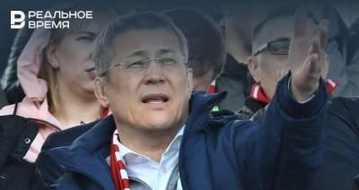 Глава Башкирии заявил, что ФК «Уфа» не будет финансироваться из бюджета республики