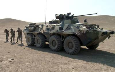 Экипажи бронетехники ВС Азербайджана совершенствуют боевые навыки (ФОТО/ВИДЕО)