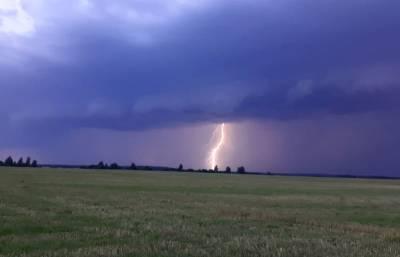 В Смоленской области – «желтый» уровень погодной опасности