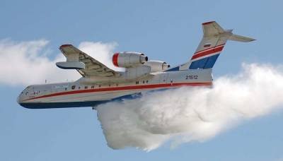 """Власти Алжира хотят купить у России четыре самолета-""""амфибии"""" Бе-200"""