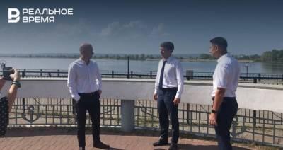 Глава Госкомитета РТ по туризму раскритиковал состояние территории речного порта Казани