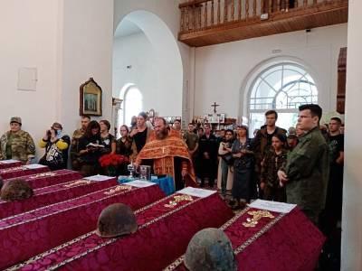 В Смоленской области прошло погребение останков солдат, погибших в Великой Отечественной войне