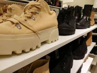 В России резко подскочили расходы на обувь