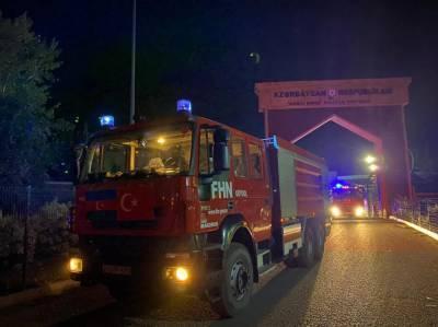 Последняя группа пожарных МЧС Азербайджана вернулась из Турции на родину (ФОТО/ВИДЕО)