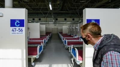В Петербурге снова госпитализируют почти 300 человек в день