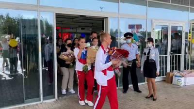 Видео из Сети. Нижегородские гимнастки вернулись домой после Олимпийских игр в Токио
