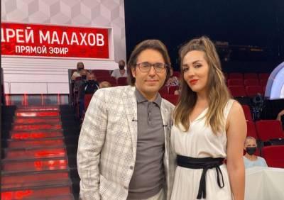 Азербайджанская певица в гостях у Андрея Малахова (ФОТО)