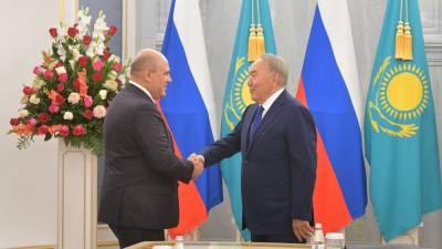 Назарбаев предложил Мишустину пригласить в ЕАЭС Узбекистан, Таджикистан и Туркменистан