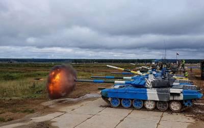 Азербайджанские танкисты продолжают подготовку к конкурсу «Танковый биатлон» (ФОТО)
