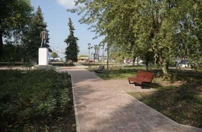 Завершилось благоустройство сквера имени 50-летия Победы