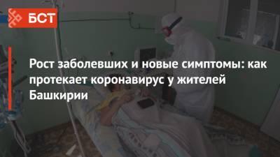 Рост заболевших и новые симптомы: как протекает коронавирус у жителей Башкирии