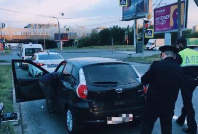 Пьяный сотрудник петербургского автоцентра взял «покататься» чужое авто