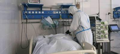 Еще три жителя Карелии стали жертвами коронавируса за последние сутки