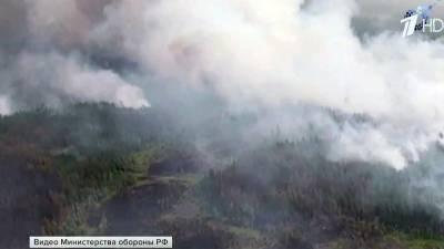 В Якутии за сутки удалось потушить лесные пожары на площади более 60 тысяч гектаров