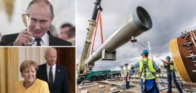 Германия не собирается перекрывать «Северный поток-2», если Путин использует его как геополитическое оружие
