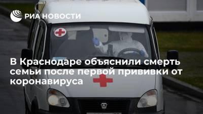Источник: умершие после первой прививки члены семьи из Краснодара уже были заражены коронавирусом