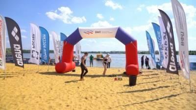 В Спутнике прошел этап Кубка России по плаванию на открытой воде