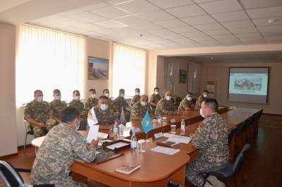 Азербайджанские артиллеристы отправились в Казахстан для участия в конкурсе (ФОТО)