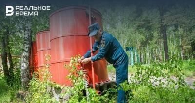 В Татарстане продлили штормовое предупреждение о высокой и чрезвычайной пожароопасности лесов