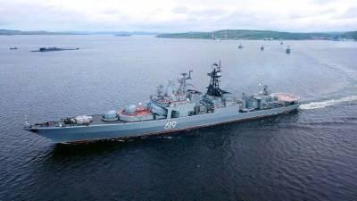 Северный флот следит за маневрами НАТО в Норвежском море с участием эсминца США