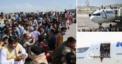 Аэропорт Кабула в Афганистане: эвакуировали 18 тысяч человек, 6 тысяч ждут вылета