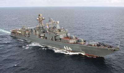 В МИД РФ выразили недоумение в связи с отказом Испании принять российские корабли