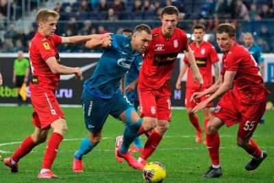 Футбол, РПЛ, Уфа - Зенит, Прямая текстовая онлайн трансляция