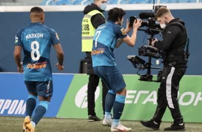 «Зенит» сыграли вничью с «Уфой» в пятом туре чемпионата России по футболу