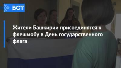 Жители Башкирии присоединятся к флешмобу в День государственного флага
