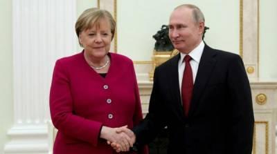 Почему Путин так дорожит Меркель: в Германии дали ответ