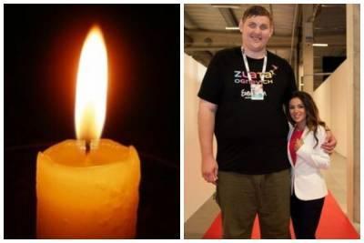 Ушел из жизни украинец-гигант, который носил на руках Злату Огневич: ему было лишь 38 лет