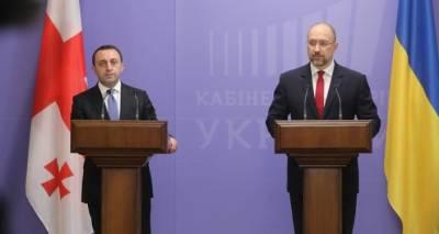 Партнерство и бизнес: о чем говорили премьеры Грузии и Украины