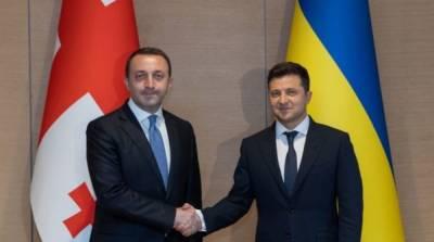 Выяснились подробности встречи Зеленского с премьером Грузии