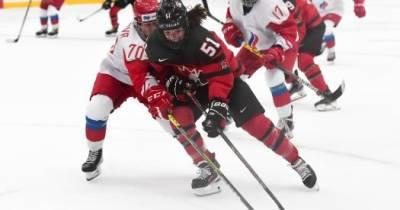 Российские хоккеистки проиграли Канаде в матче чемпионата мира