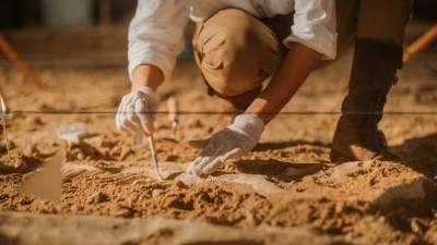 Уникальная находка: в Абхазии обнаружили свинцовый саркофаг V-VI веков