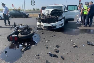 Погибший под Уфой мотоциклист не имел водительского удостоверения