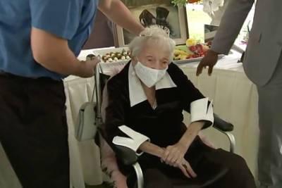 Старейшая 110-летняя пенсионерка назвала причину своего долголетия