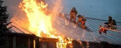 В Пермском крае произошел крупный пожар на Чайковской птицефабрике