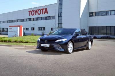 Сокращение производства Toyota не коснется завода в России
