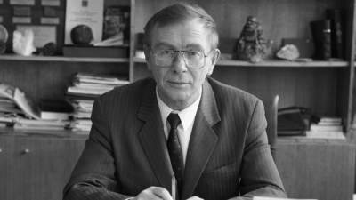 Ушел из жизни бывший министр природы России Виктор Орлов