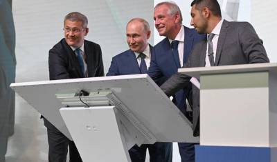 Глава Башкирии молился перед встречей с Путиным