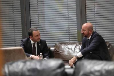Состоялась неформальная встреча премьер-министра Грузии и главы Евросовета