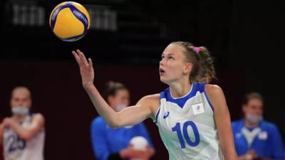 Женская сборная России проиграла Бельгии на ЧЕ по волейболу