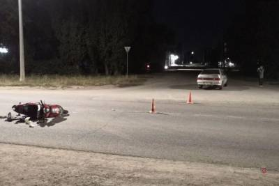 На трассе Волгоградской области пострадал петербуржец на Harley-Davidson