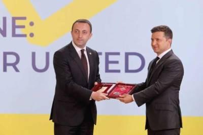 Гарибашвили и Зеленский поговорили об «ужасах» на «Крымской платформе»
