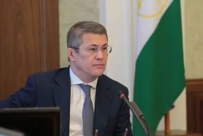 Глава Башкирии сообщил, что молился перед встречей с Путиным