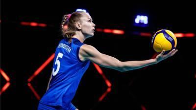 Женская сборная России по волейболу досрочно вышла в 1/8 финала ЧЕ