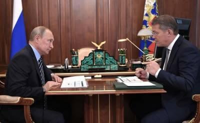 Глава Башкирии молился, чтобы справиться с волнением перед встречей с Путиным